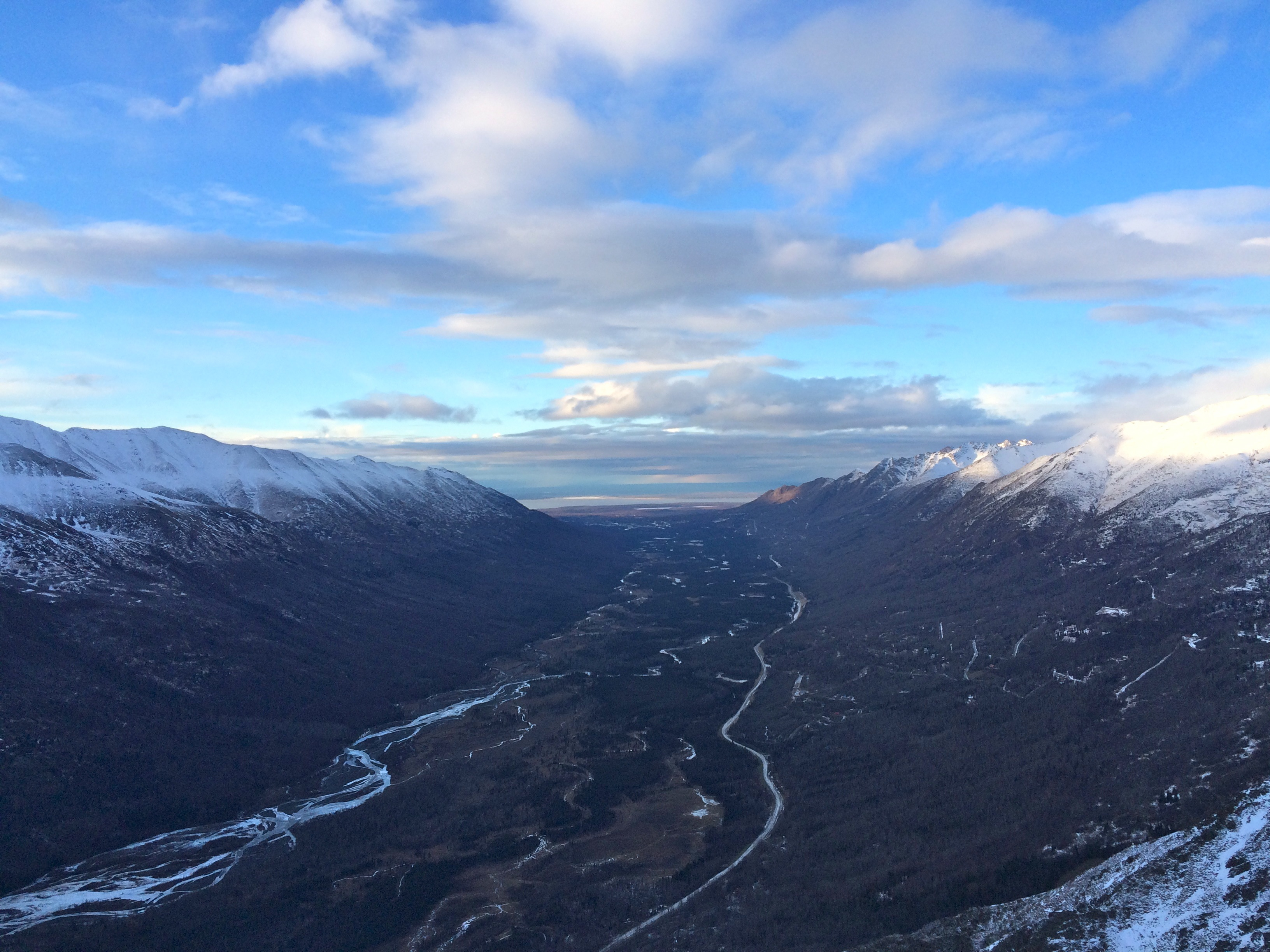 eagle river valley from avalon