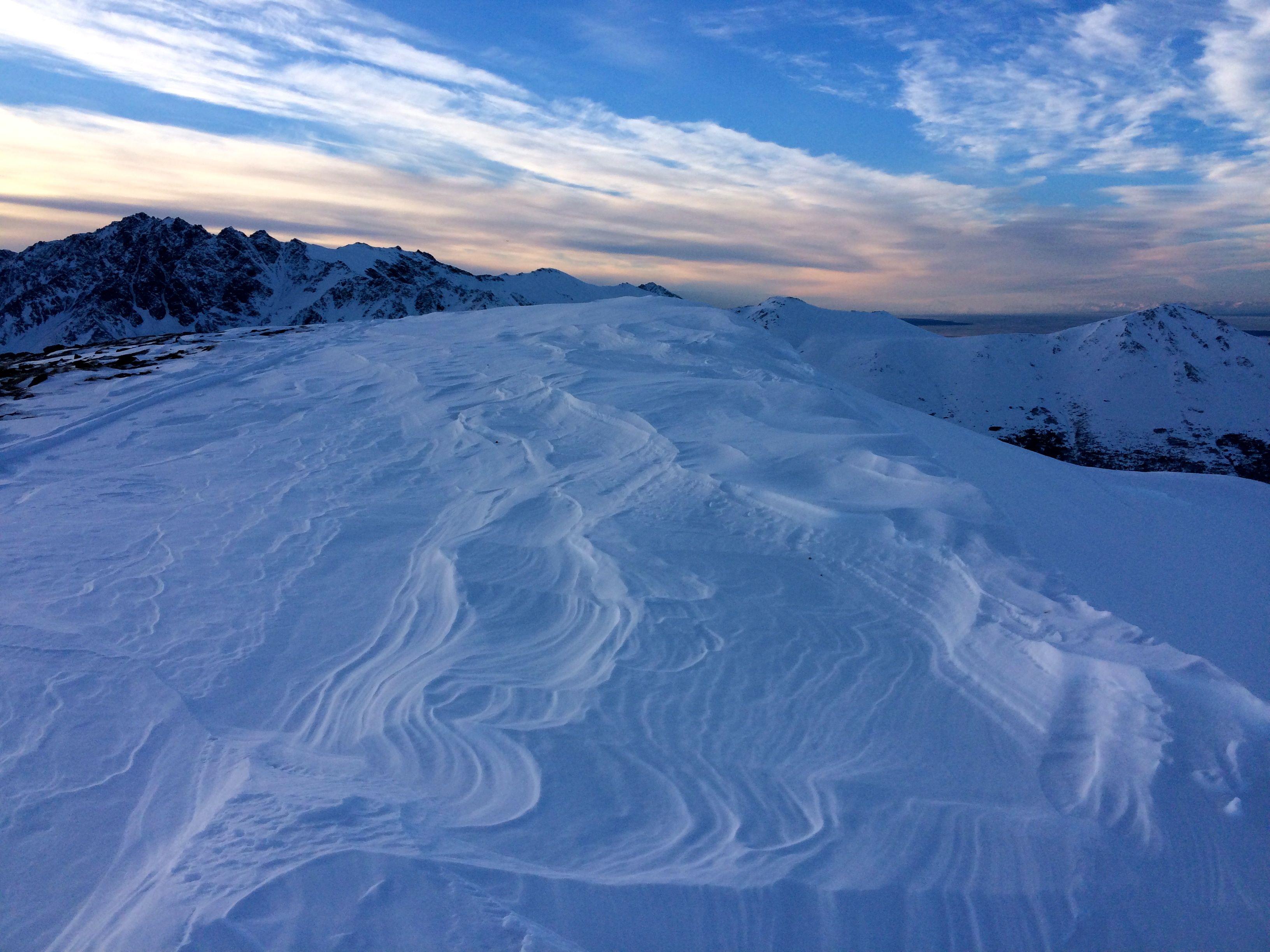 ridge sastrugi