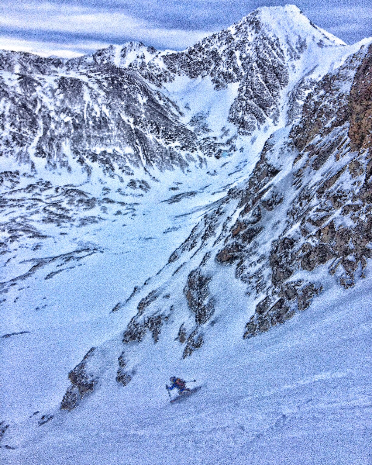 sam ramp couloir 1:16