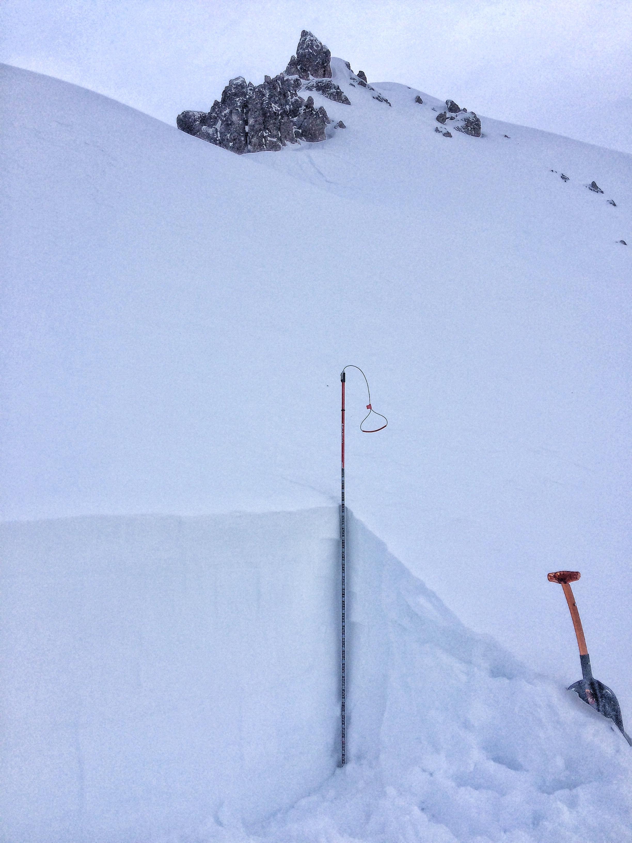 Pk 4 snowpit 2.25.16