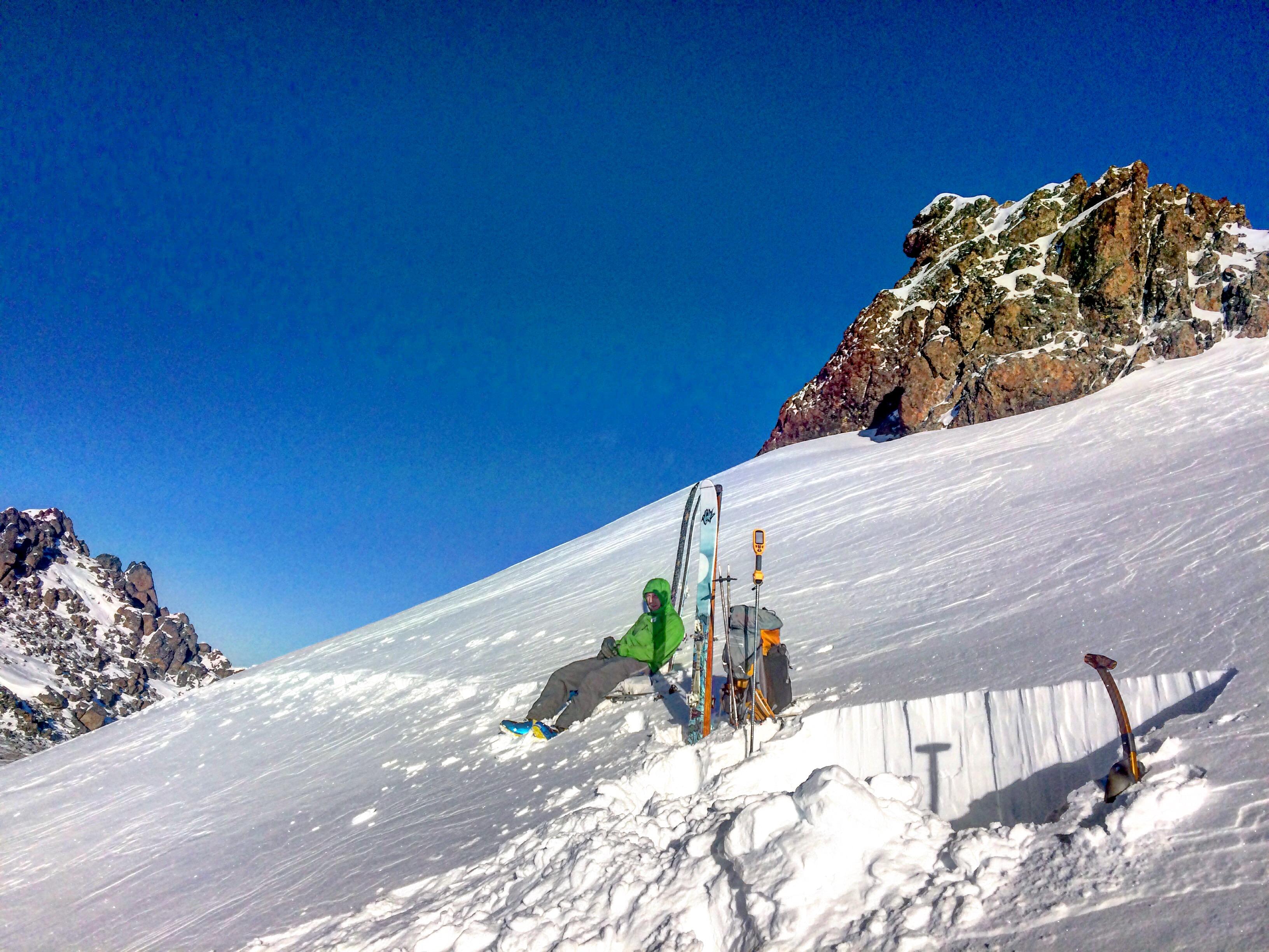 Todd Peak 4 snowpit